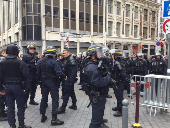 Немецкие фанаты напали на украинских болельщиков