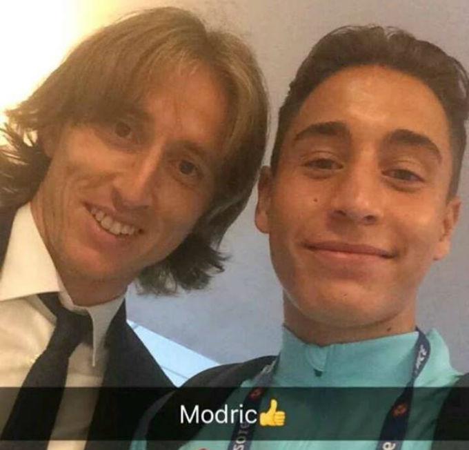 Полузащитник сборной Турции ждал Модрича, чтобы сделать селфи