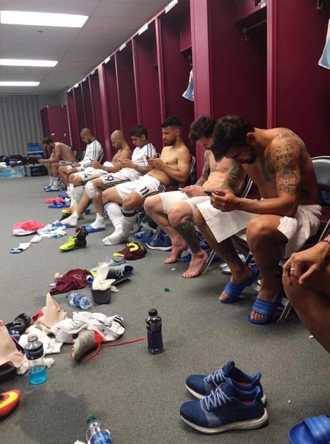 Аргентинцы «бурно» отпраздновали победу в четвертьфинале Копа Америка