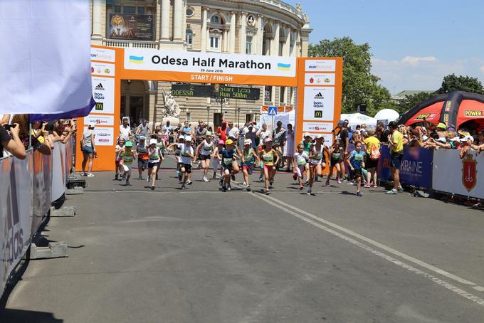 Юрий Грицак победитель международного полумарафон Odesa Half Marathon 2016