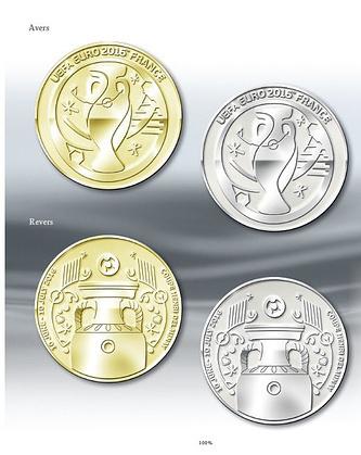 Был представлен дизайн золотых и серебренных медалей
