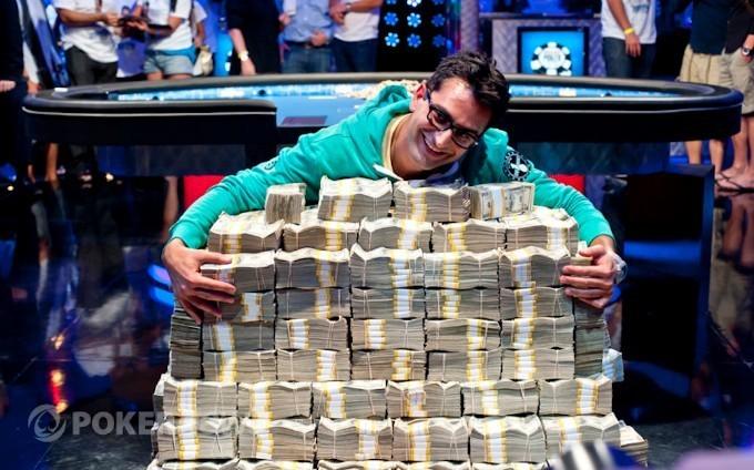 Покер. Рик Эстли и Неймар на WSOP-2016