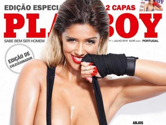 Девушка экс-футболиста снялась для Playboy