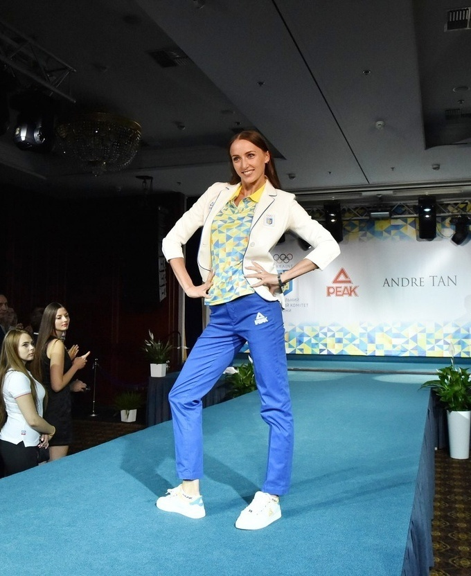 Представлена форма сборной Украины на Олимпийские игры