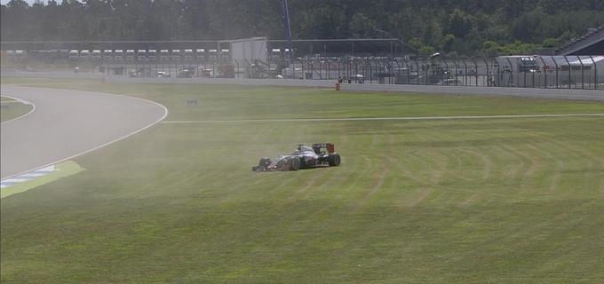 Формула-1. Гран-при Германии. Росберг  –  лучший в третьей тренировке