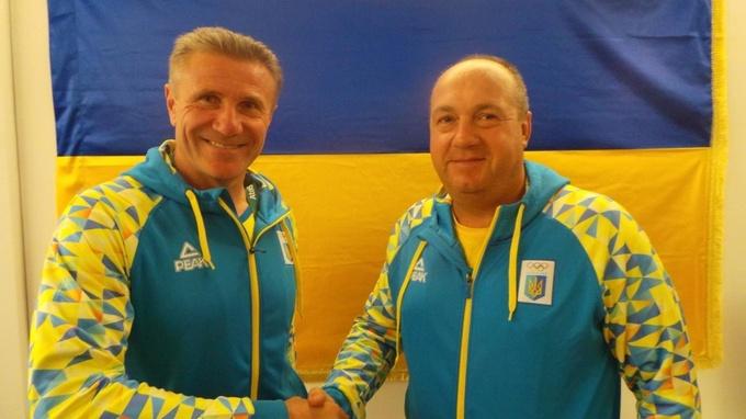 Сергей Бубка и Николай Мильчев