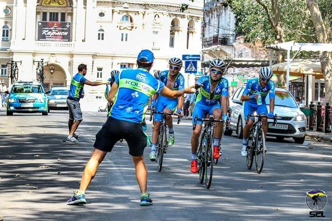 Одесский велоуикенд  –  Kolss-BDC начинает и выигрывает