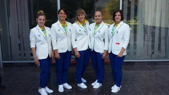 Украинская сборная по борьбе