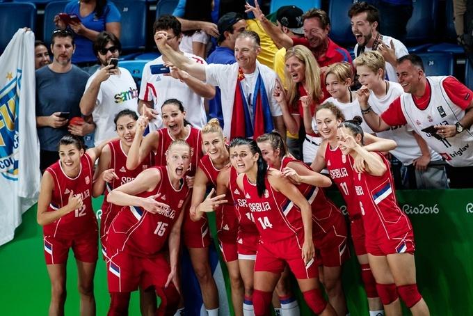 Баскетбол. Женщины. США берет золото
