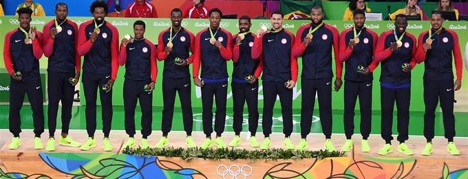 Баскетбол. Сборная США завоевывает золото
