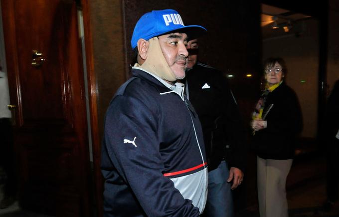 Марадона сделал подтяжку лица