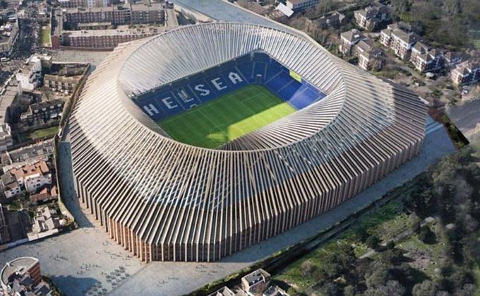 Новый стадион Челси