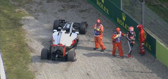 Формула-1. Гран-при Италии. Хэмилтон — быстрейший в третьей тренировке