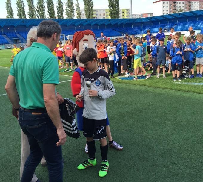 11-летний украинец перешел в«Реал» U-12