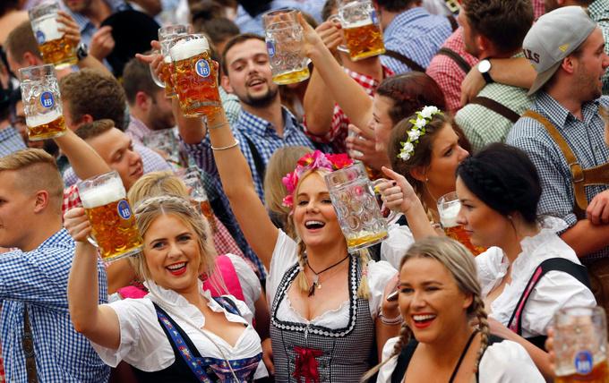 Бавария готовится к Октоберфесту