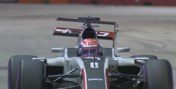Формула-1. Гран-при Сингапура. Росберг  –  лидер второй тренировки