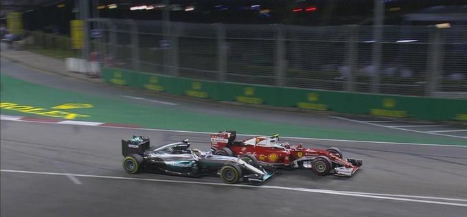 """Формула-1. Гран-при Сингапура. Росберг побеждает на трассе """"Марина Бей"""""""