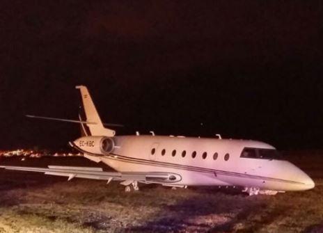 Самолет Роналду потерпел крушение в Барселоне
