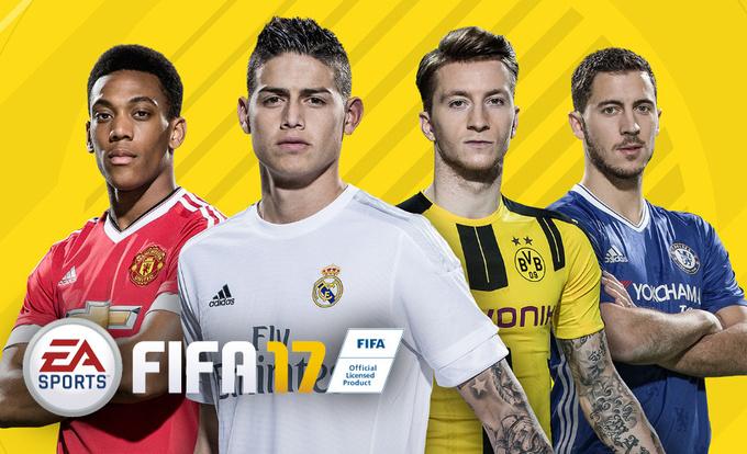 FIFA 17 продается в 40 раз лучше, чем PES 2017