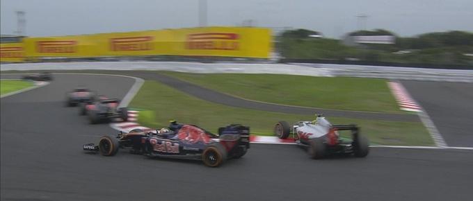 Формула-1. Гран-при Японии. Росберг выигрывает гонку на Сузуке!