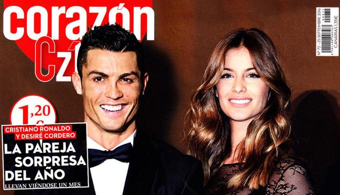 Роман Роналду с мисс Испанией – фальшивка?
