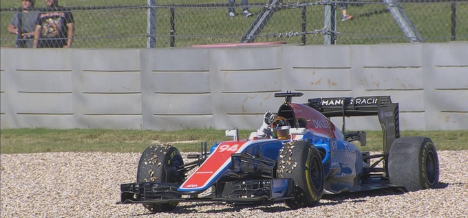 Формула-1. Гран-при США.  –  лучший в третьей тренировке