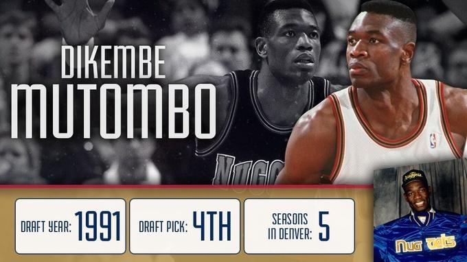НБА. Денвер вывел из обращения номер Мутомбо