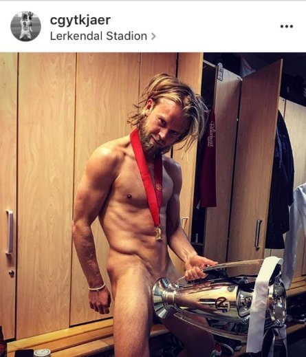 Хардкор по-норвежски: как футболисты Русенборга праздновали чемпионство