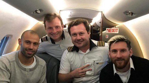 Месси менее месяца назад был пассажиром разбившегося сегодня самолета