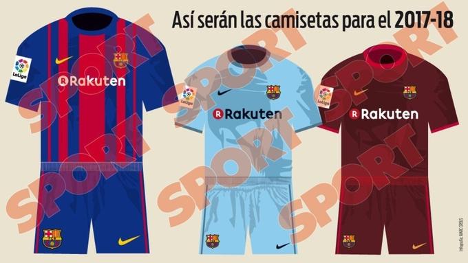 Барселона: новый спонсор и новая форма