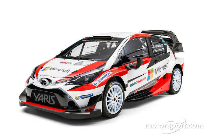 Топ-команды WRC представили свои новые крутые тачки на 2017 год