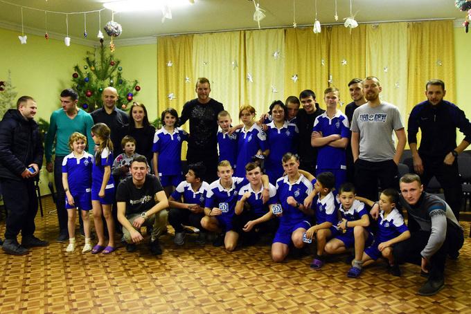 Ярмоленко посетил детский дом в киевской области
