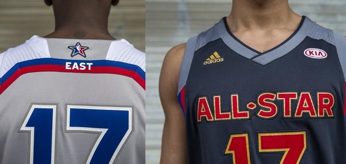 Представлены формы на Матч Всех звезд НБА-2017