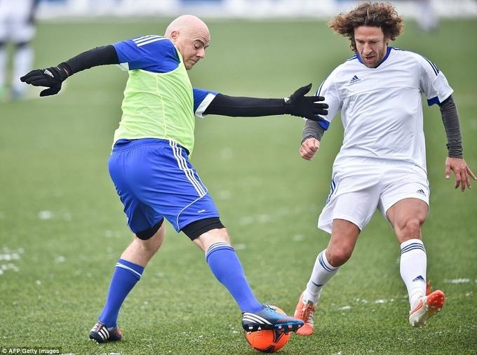 Матч легенд мирового футбола