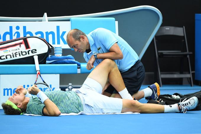 Australian Open (ATP). Димитров и травма остановили невероятного Истомина