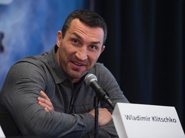 Кличко и Джошуа провели пресс-конференцию в Нью-Йорке