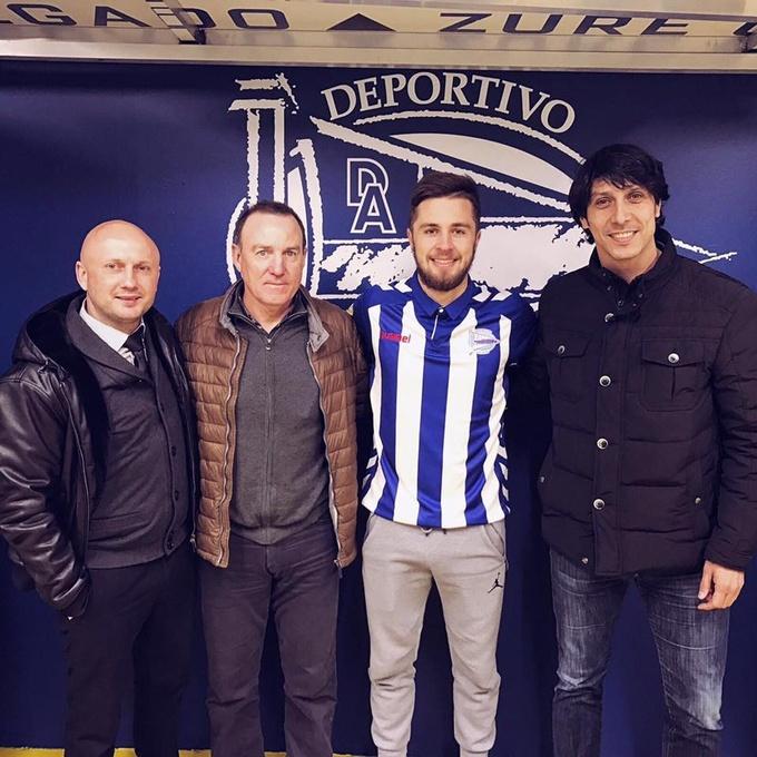 Воспитанник киевского Динамо продолжит карьеру в испанском клубе