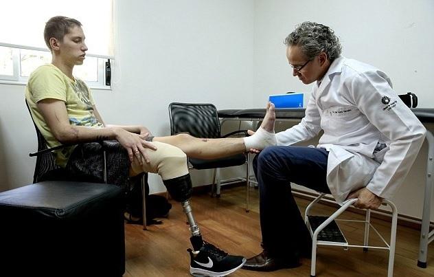 Выживший игрок Шапекоэнсе хочет стать паралимпийцем