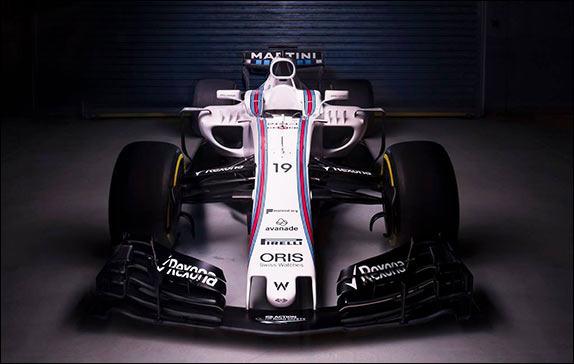 Уильямс показали новую FW40