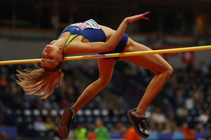 Левченко принесла Украине первую медаль чемпионата Европы в помещении
