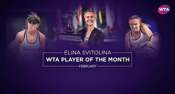 Свитолина стала лучшей кконцу зимы поверсии WTA— нереальное достижение