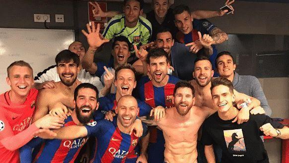Матье обвинил партнера по Барселоне за фото со средним пальцем
