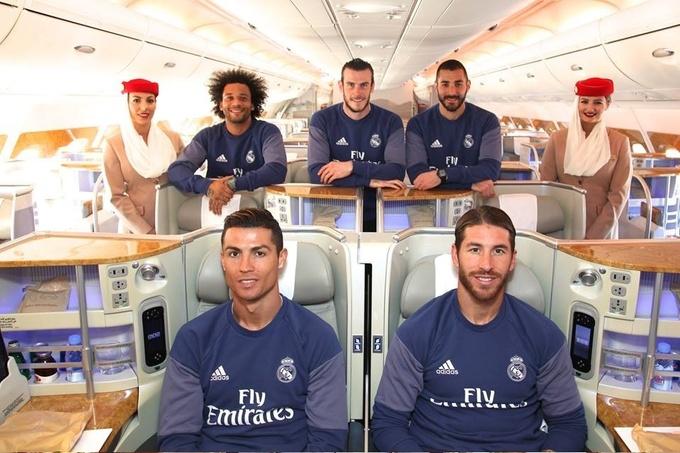 Игроки Реала украсят новый самолет