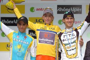 Эванс остался лидером рейтинга велосипедистов