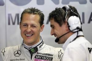 """Шумахер: """"Мы не можем конвертировать наш темп в результаты"""""""