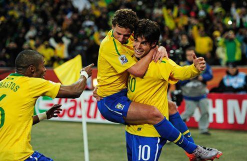 Бразилия в 1/8 финала, Слоны отправятся домой