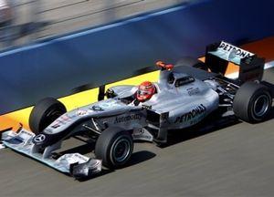 """Шумахер: """"Пока что главным было почувствовать трассу"""""""