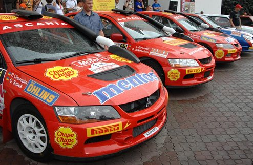 Mentos Ascania Racing ������ ��������� ����� � ����� ���������