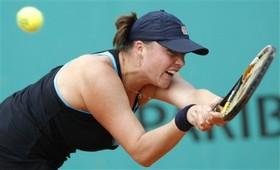 """Клейбанова: """"Не показала свой лучший теннис"""""""