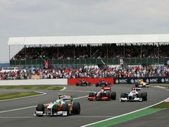 Осадки на Гран-при Великобритании маловероятны